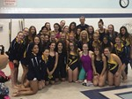 Girls Varsity Swim Team