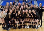 Girls volleyball Suffolk County Champs!