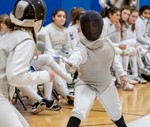 Girls Fencing Photo by Bob Williams