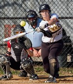 Varsity Softball Player CHS