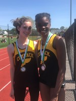 Suffolk County Sophomore Long and Triple Jump Champion