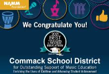 NAMM Best 2021 in Music Education