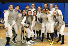 Girls Fencing Team