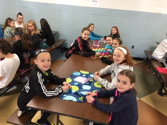 Photo of Students Creating Pillows