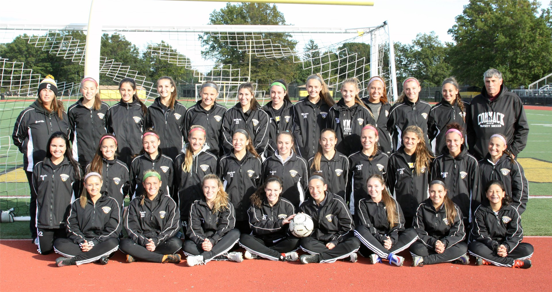 Girls Varsity Soccer Team - League 1 CHAMPS
