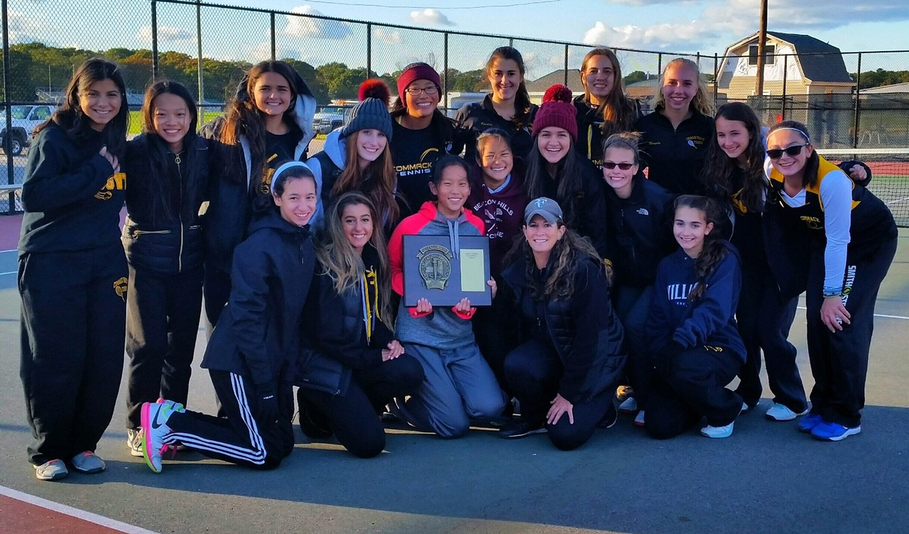 Girls Varsity Tennis Team - Suffolk County Champs!!!