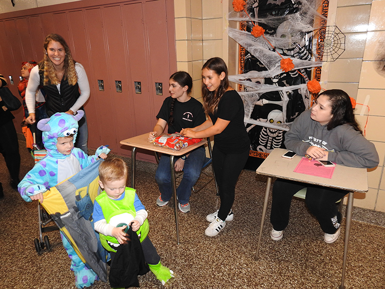 Halloween Happening at Commack High School