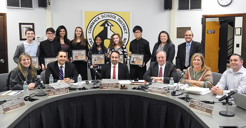 Music awards BOE with students