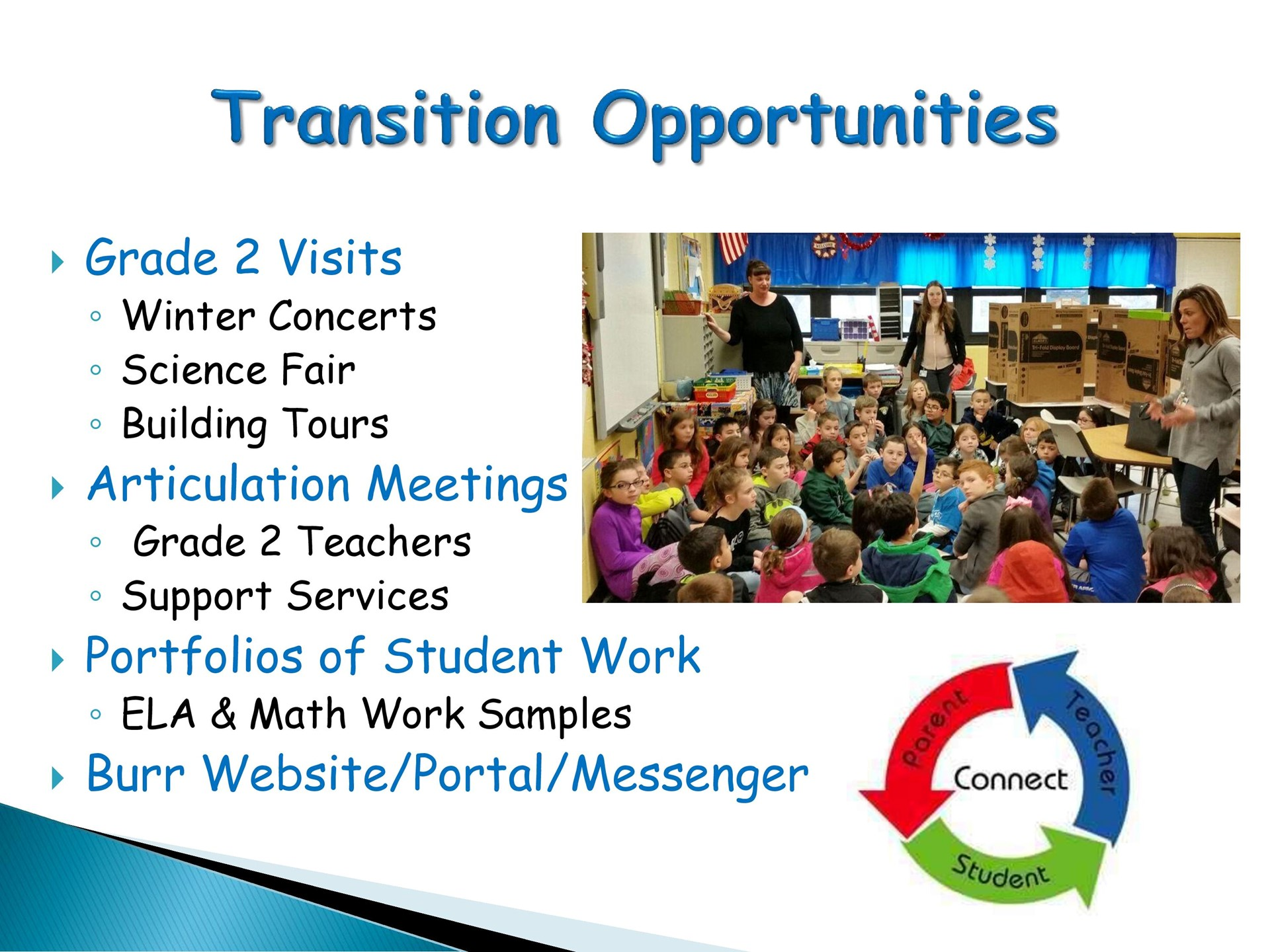 Transition Opportunities
