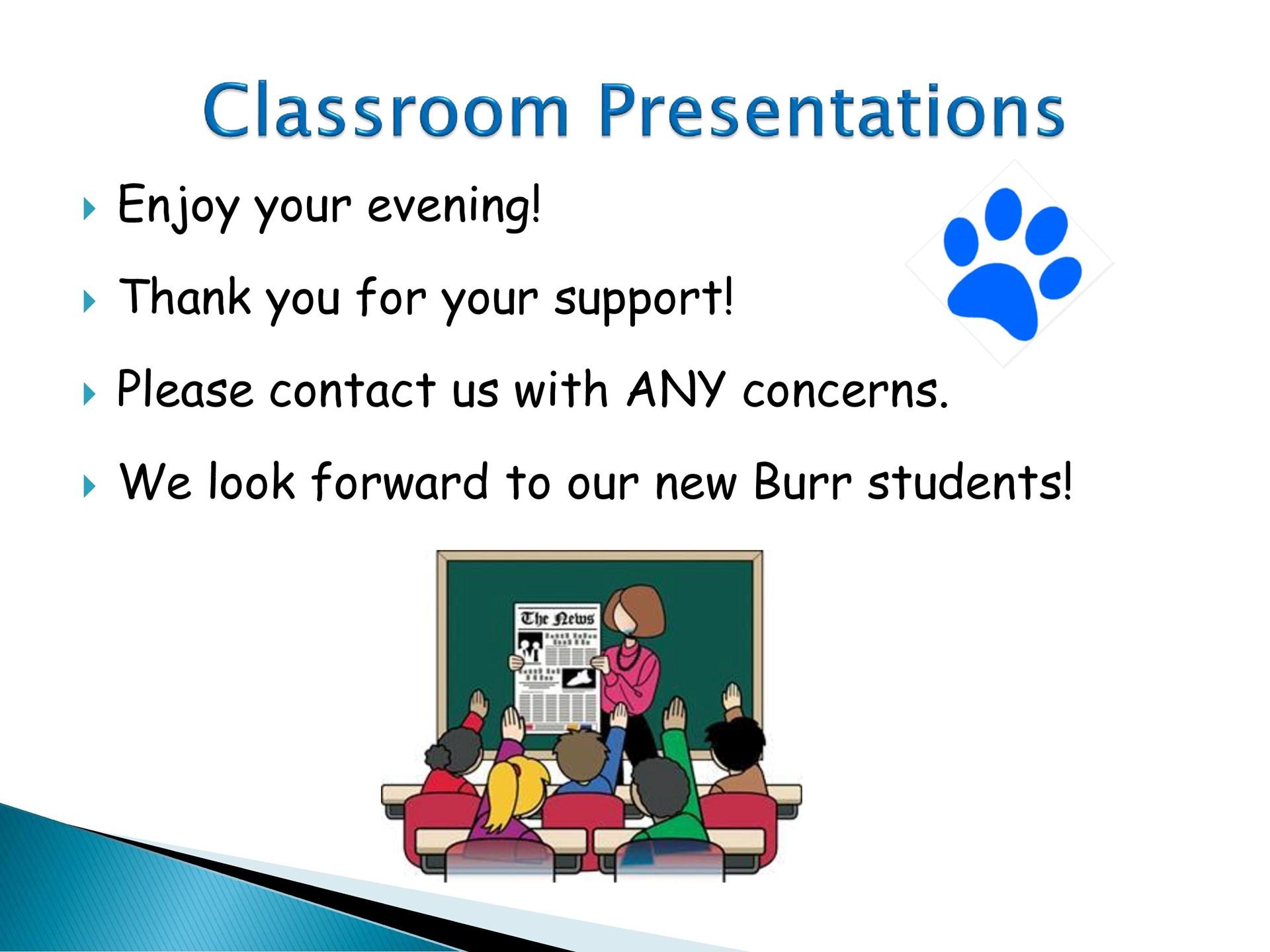 Classroom Presentations