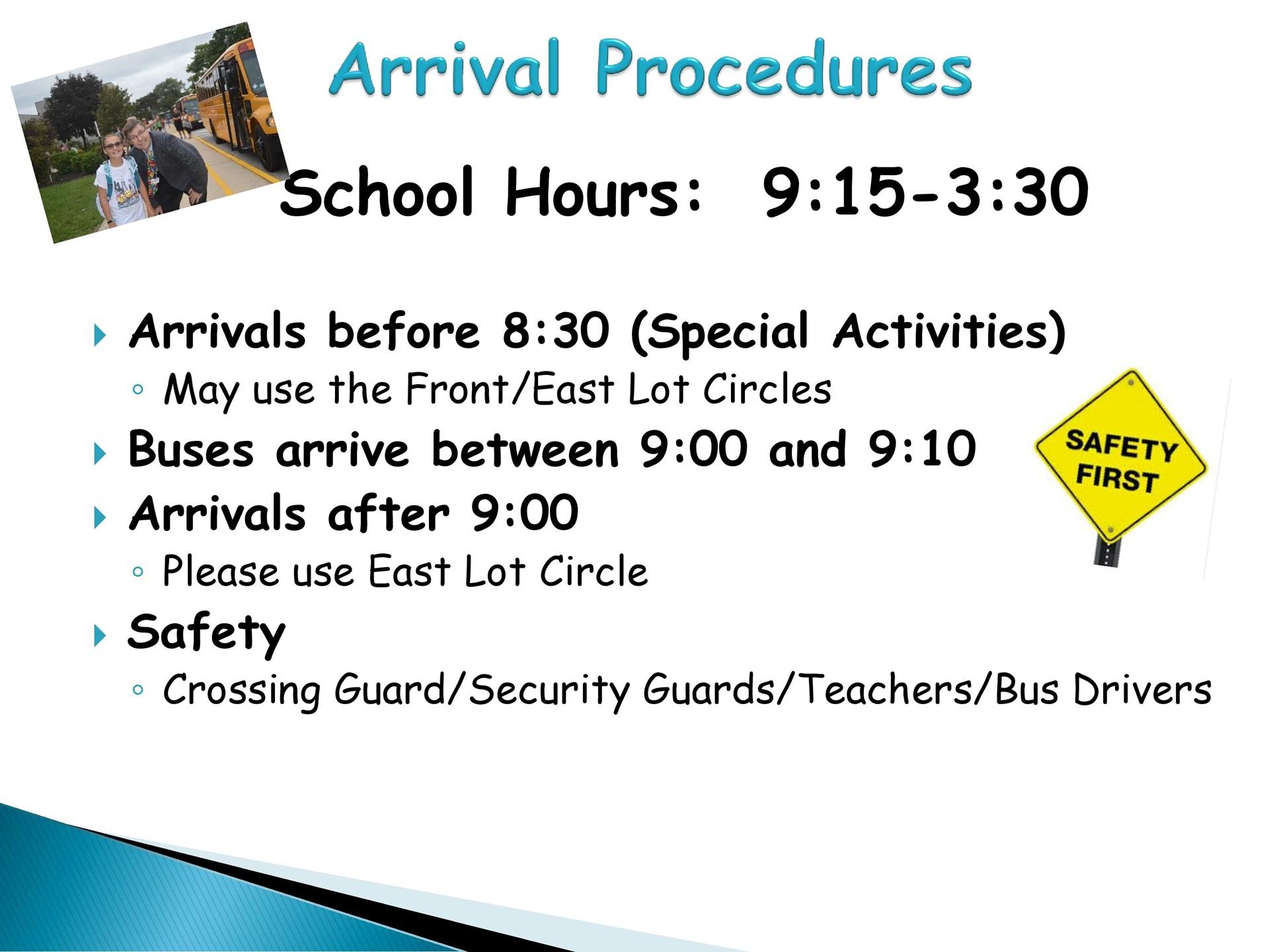 Arrival Procedures
