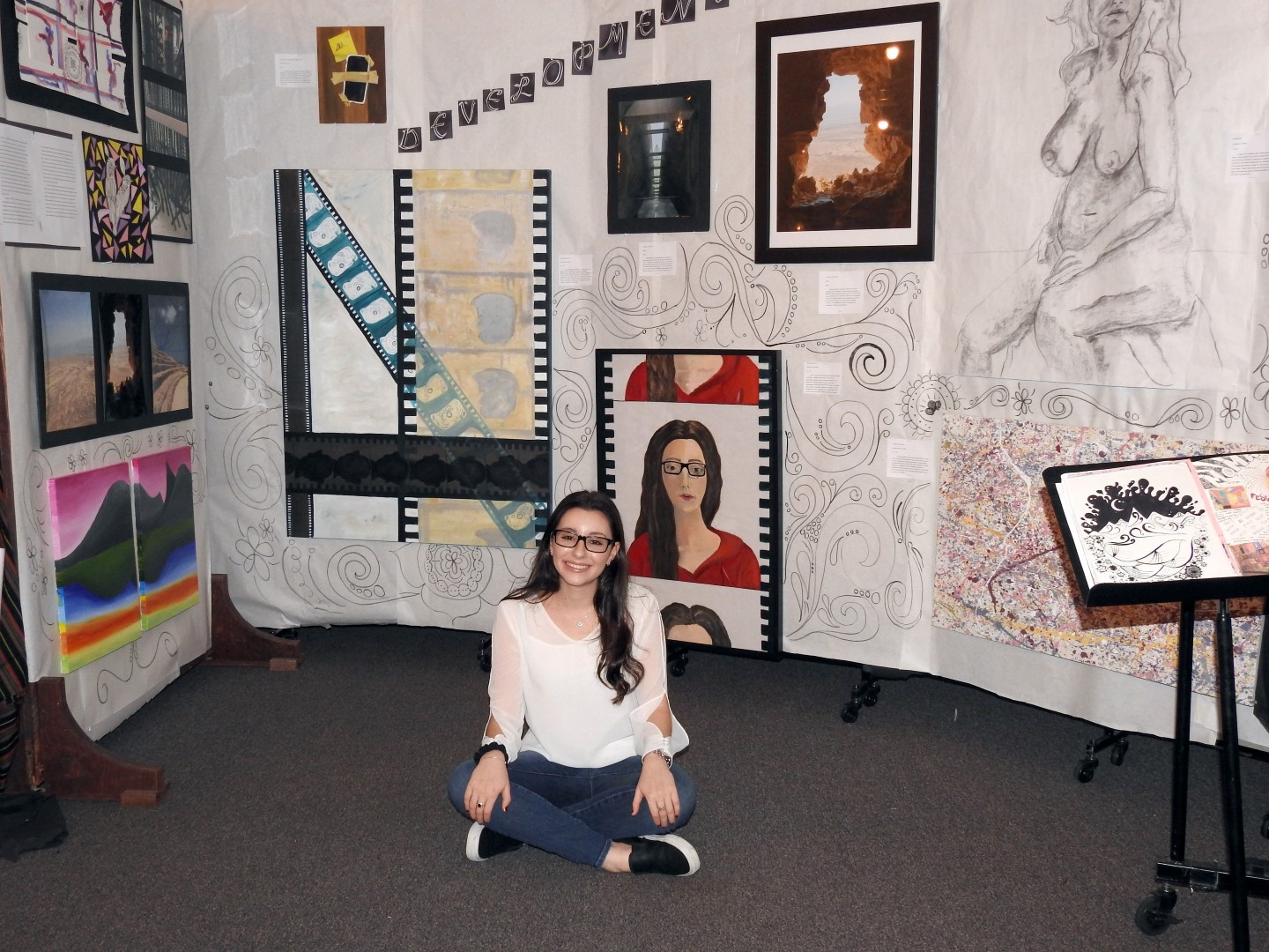 IB Visual Arts Installations