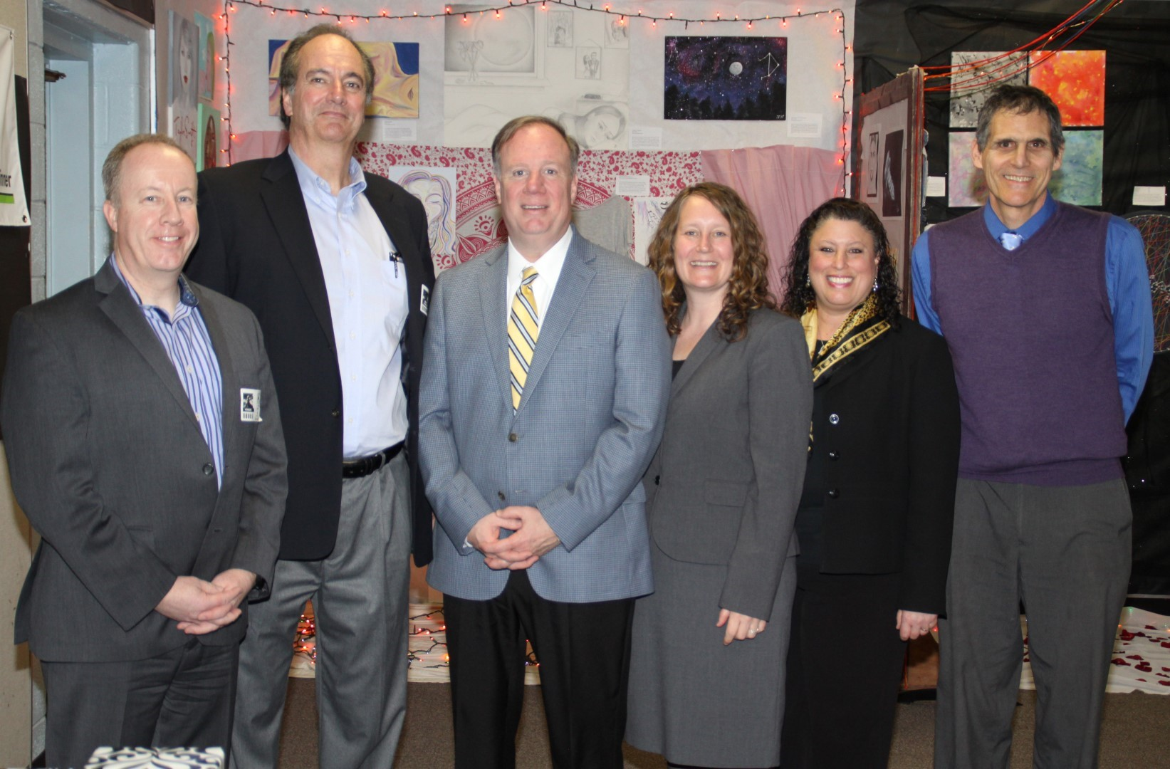Toshiba RepsPaul Hickey & Paul Fitzpatrick w Dr. James, Dr. Celentano, Mrs. Boritz, & Mr. Kurtz