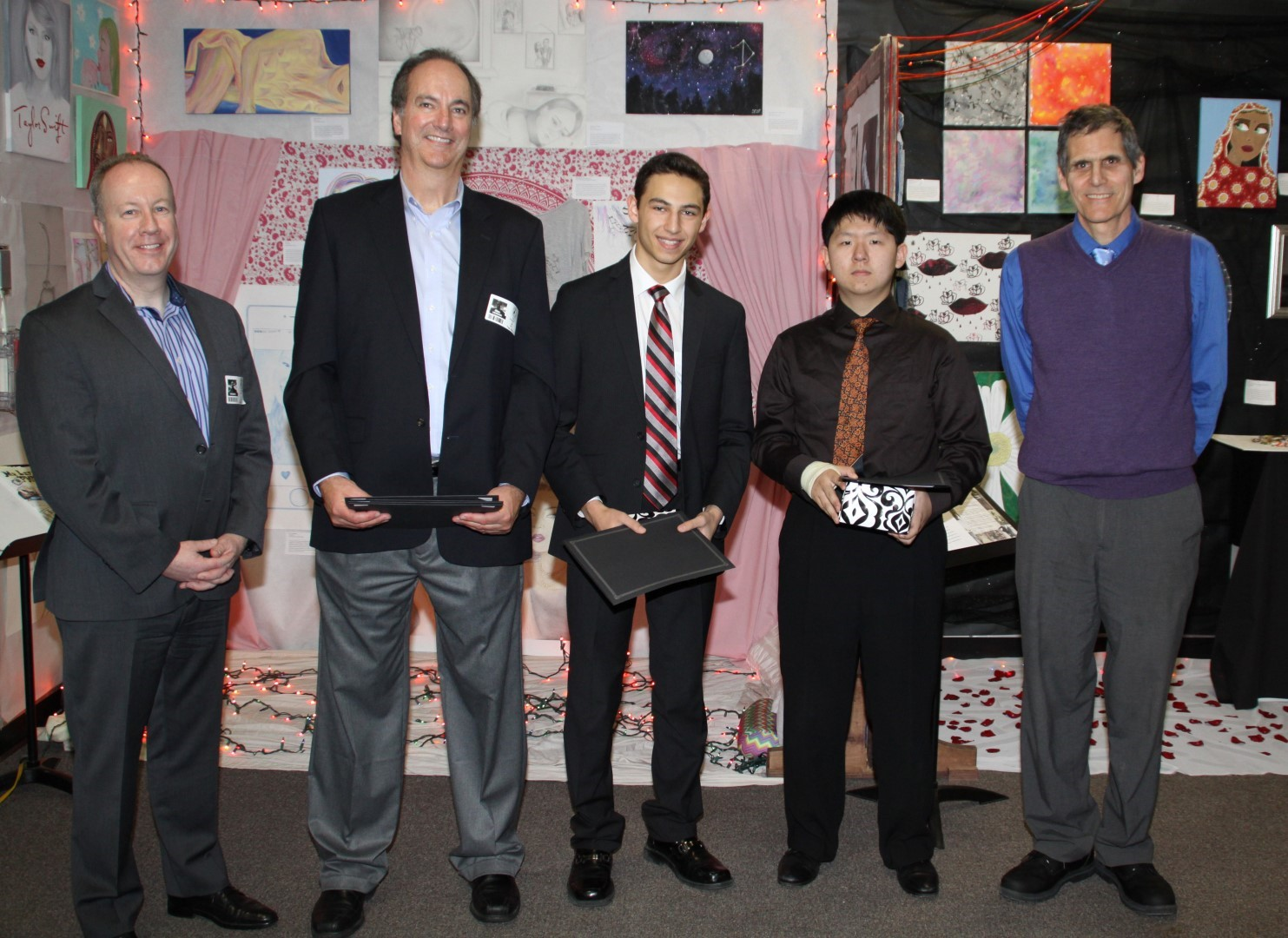 Honorable Mention Awardees with Toshiba Representatives