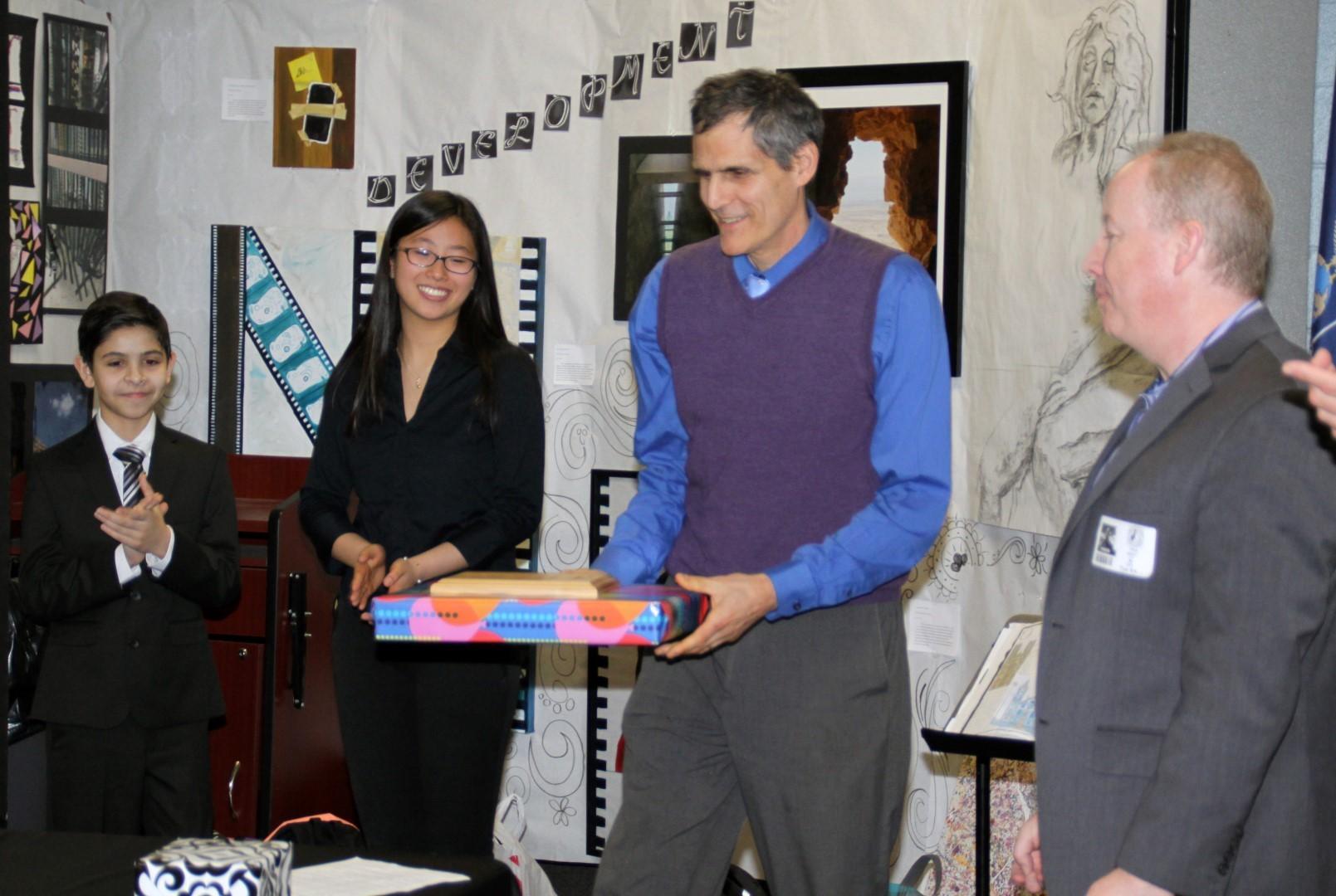 Mr. Kurtz Received an Award, too!