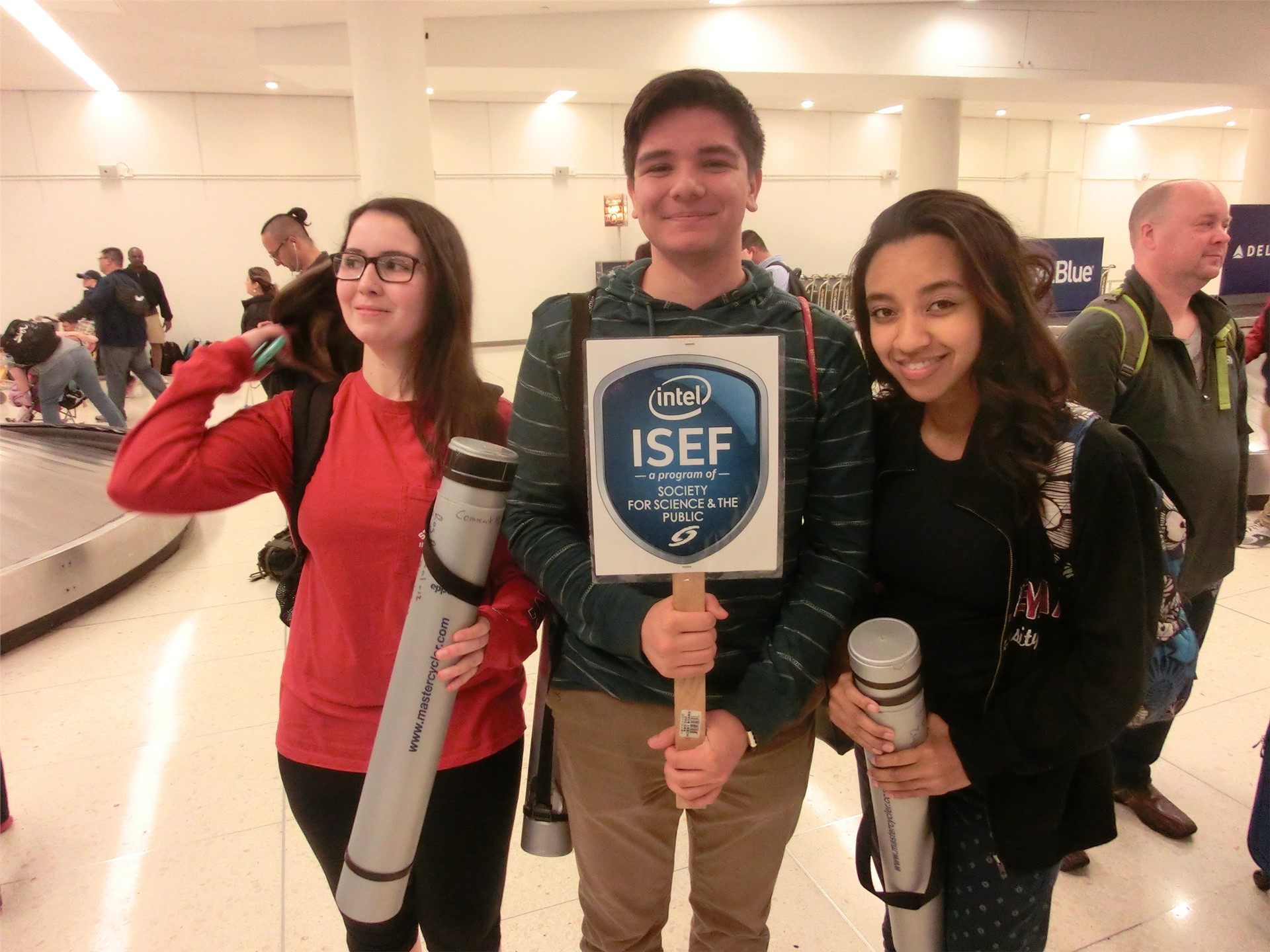Commack at ISEF Day 1