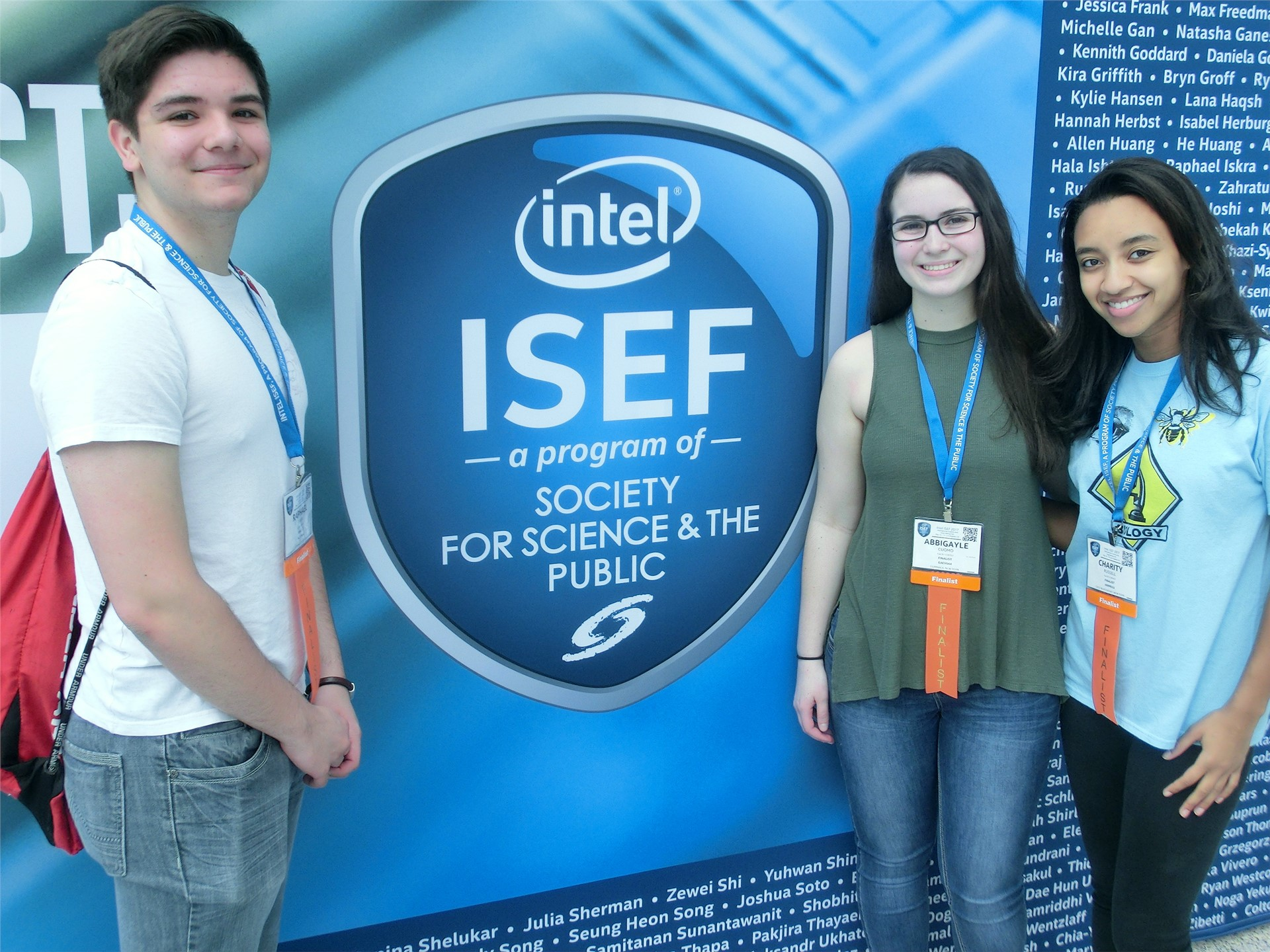 Commack at ISEF Day 2