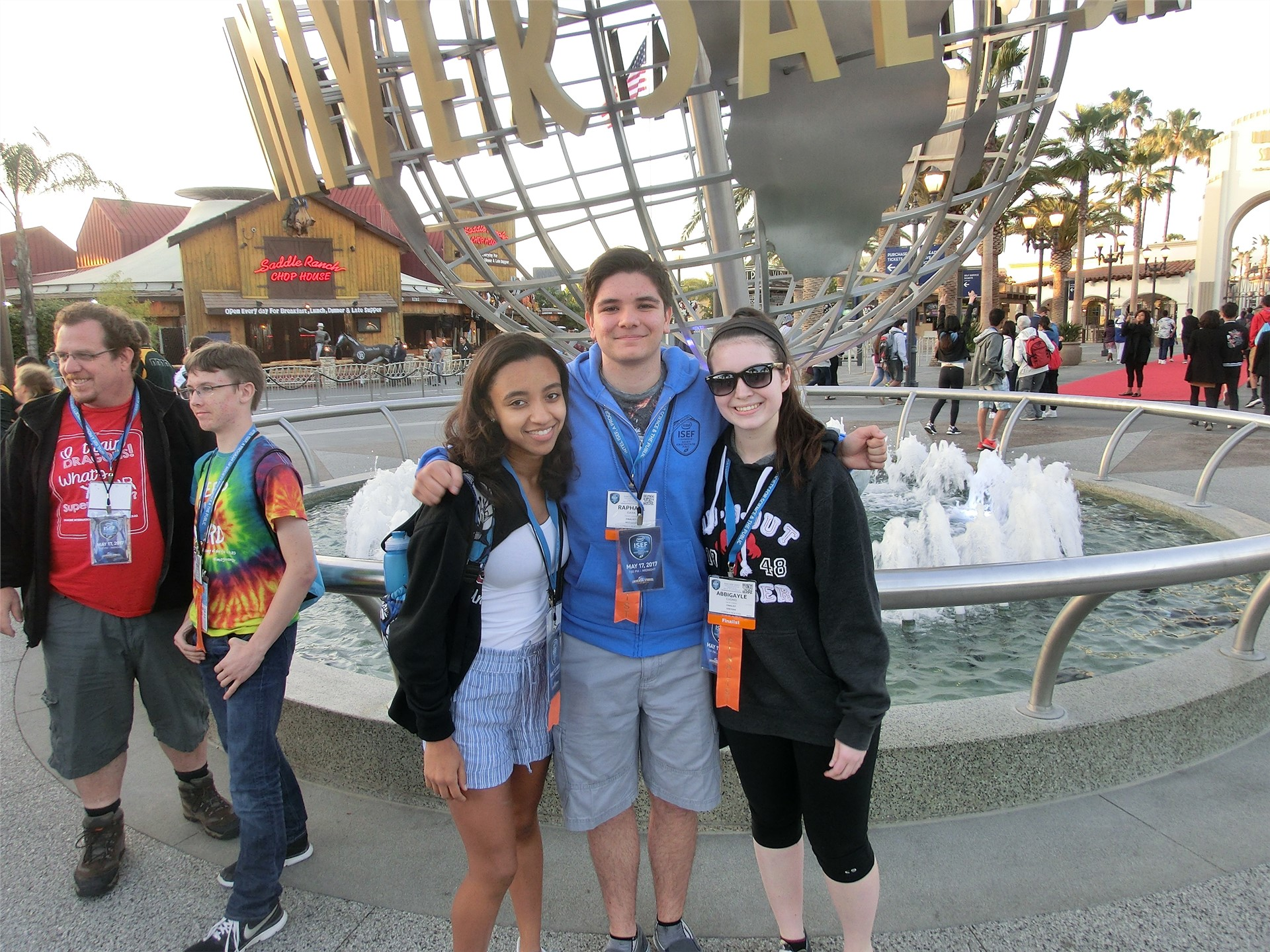 Day 5 - Commack at ISEF & Universal