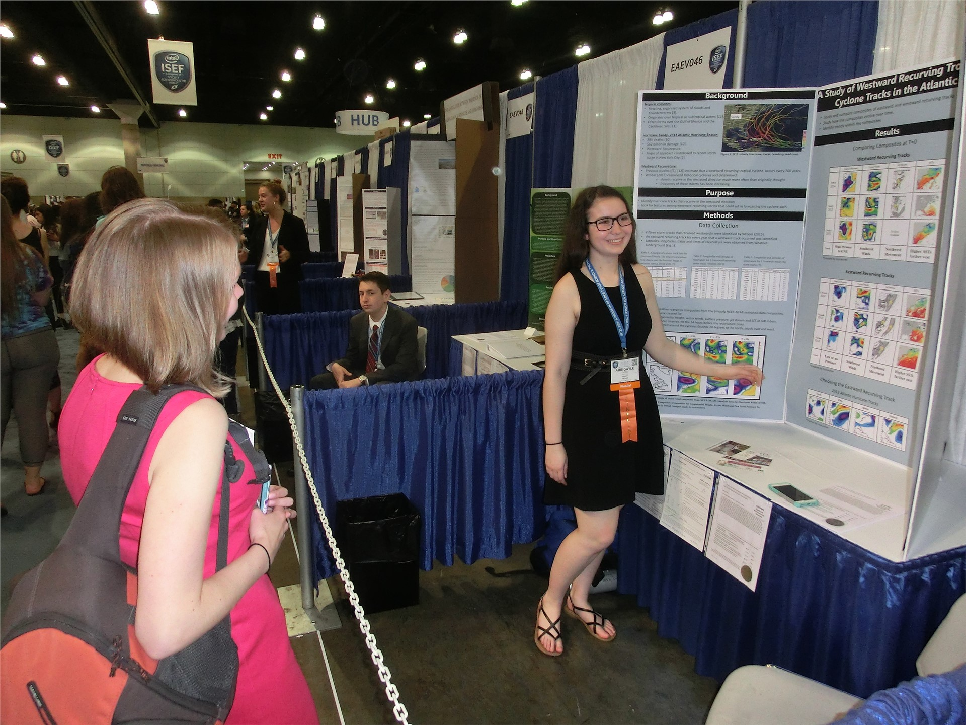 Day 6 - Commack at ISEF