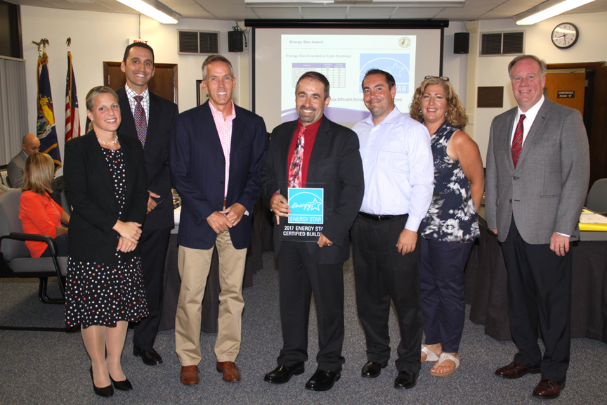Energy Star Awards presented at BOE Meeting.