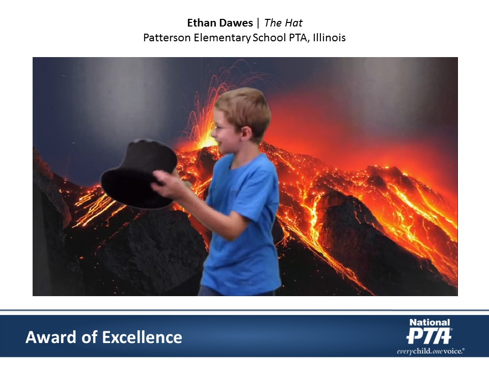 National PTA 2016 Reflections Awards, Ethan Dawes, The Hot