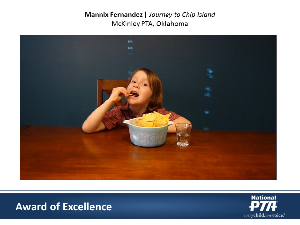 National PTA 2016 Reflections Awards, Mannix Fernandez, Journey to Chip Island