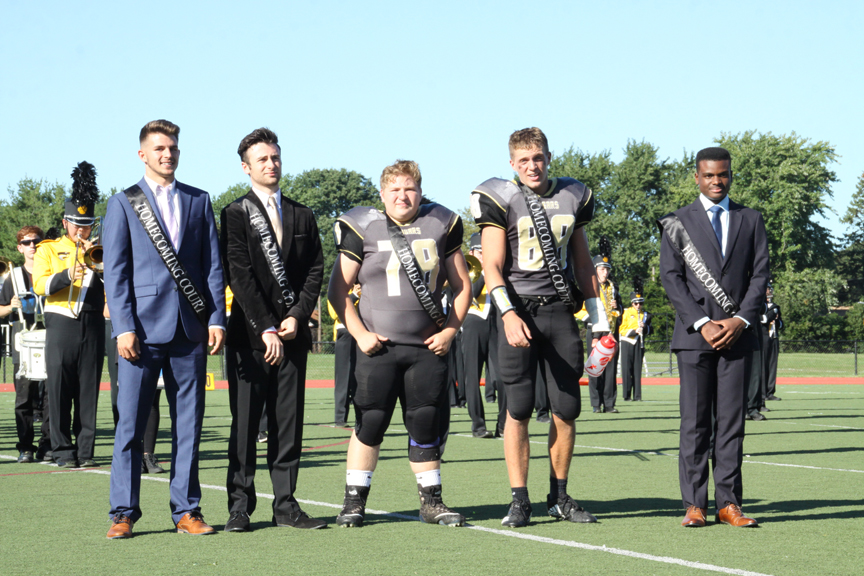 Commack Homecoming Court