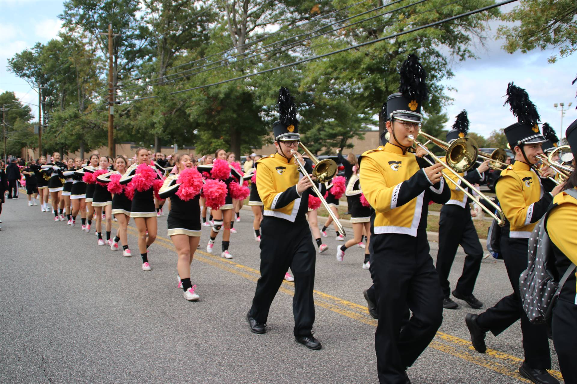 Commack HS Homecoming Parade 2018