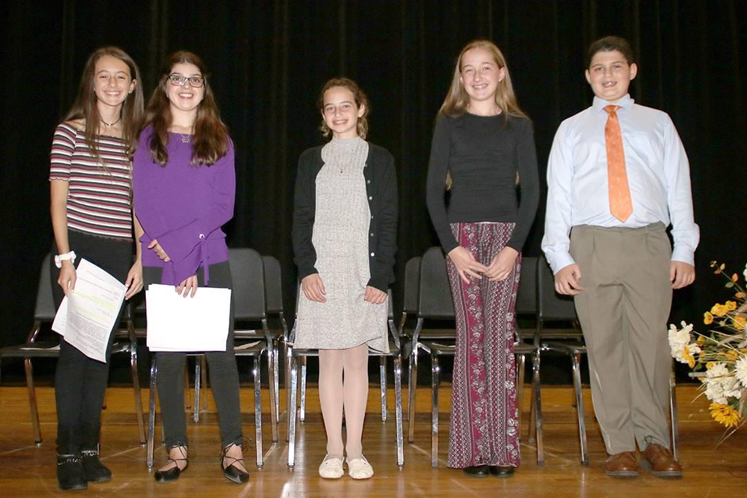 National Junior Honor Society Induction at CMS