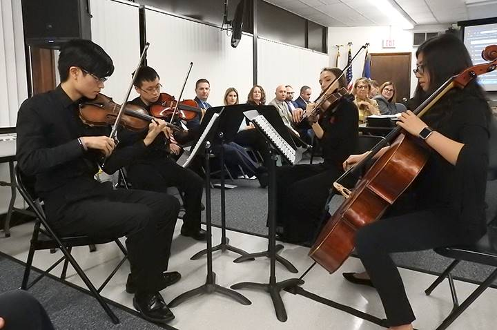 BOE Meeting Quartet