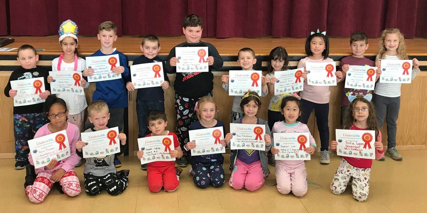 Photo of our Leaders of the Month: November 2018
