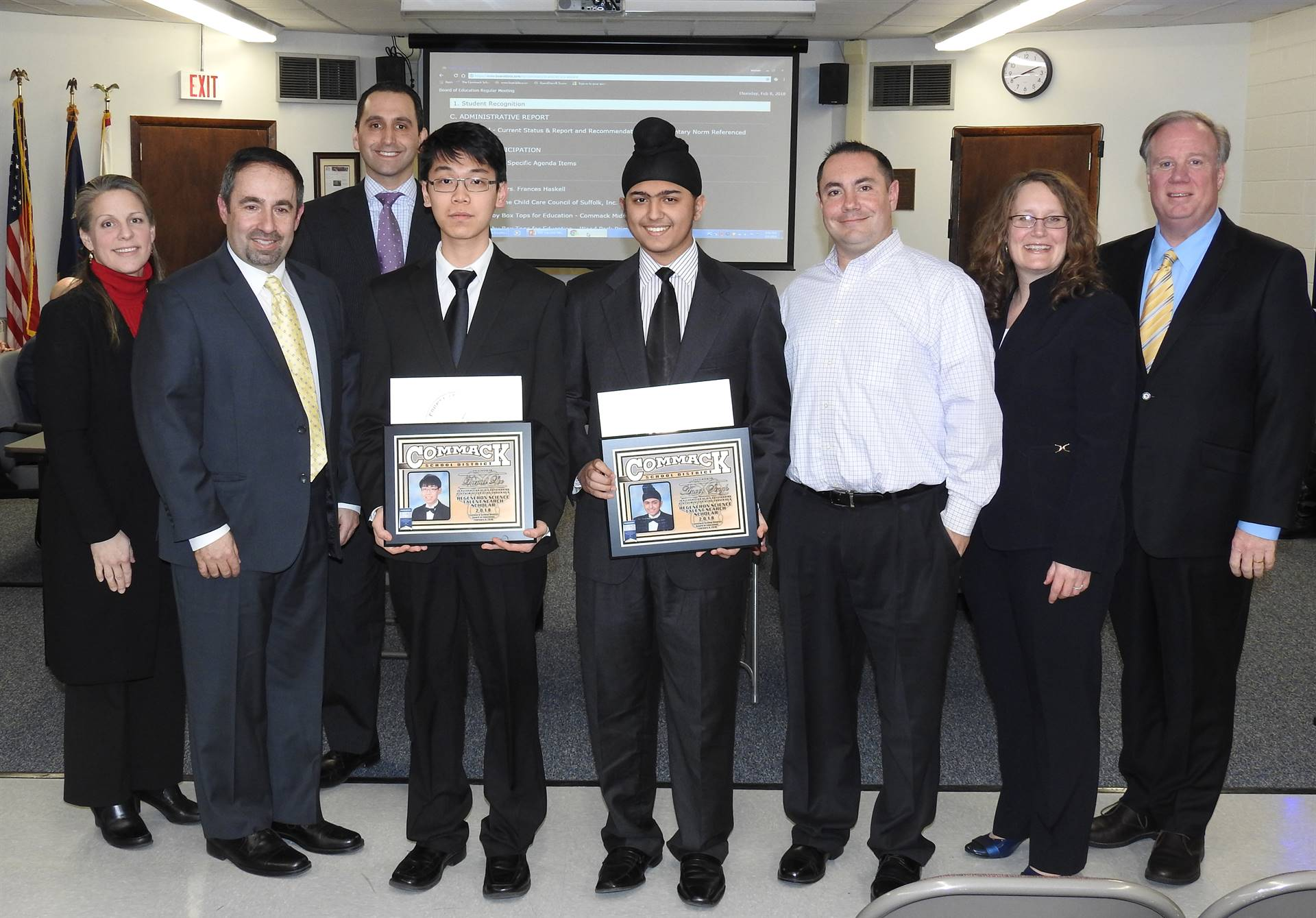 Board of Education and Regeneron Scholars