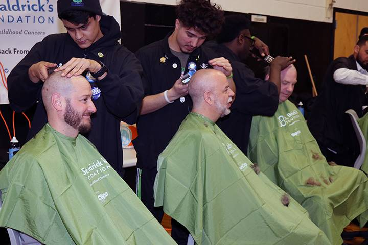 St. Baldricks at Commack High School