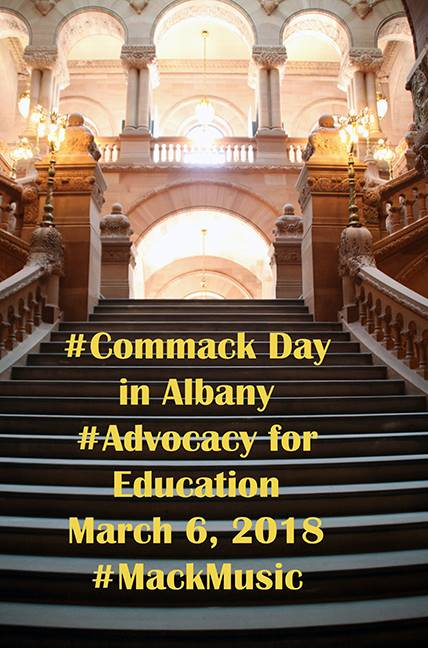 Commack Day in Albany