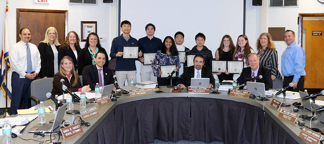 Students were recognized for their accomplishments at the Long Island, NY, and NYC Science and Engin