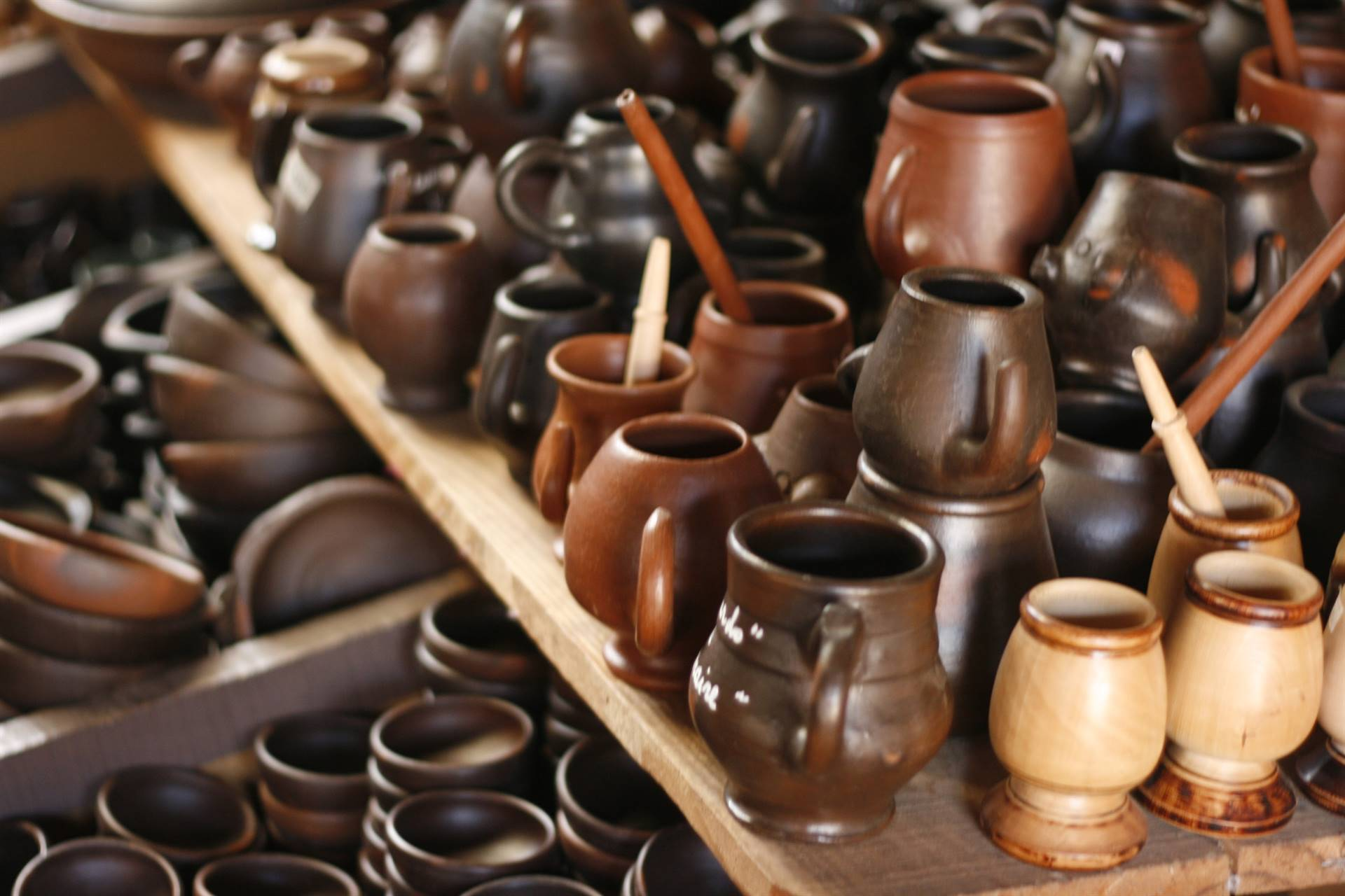 Clay cups-Chile