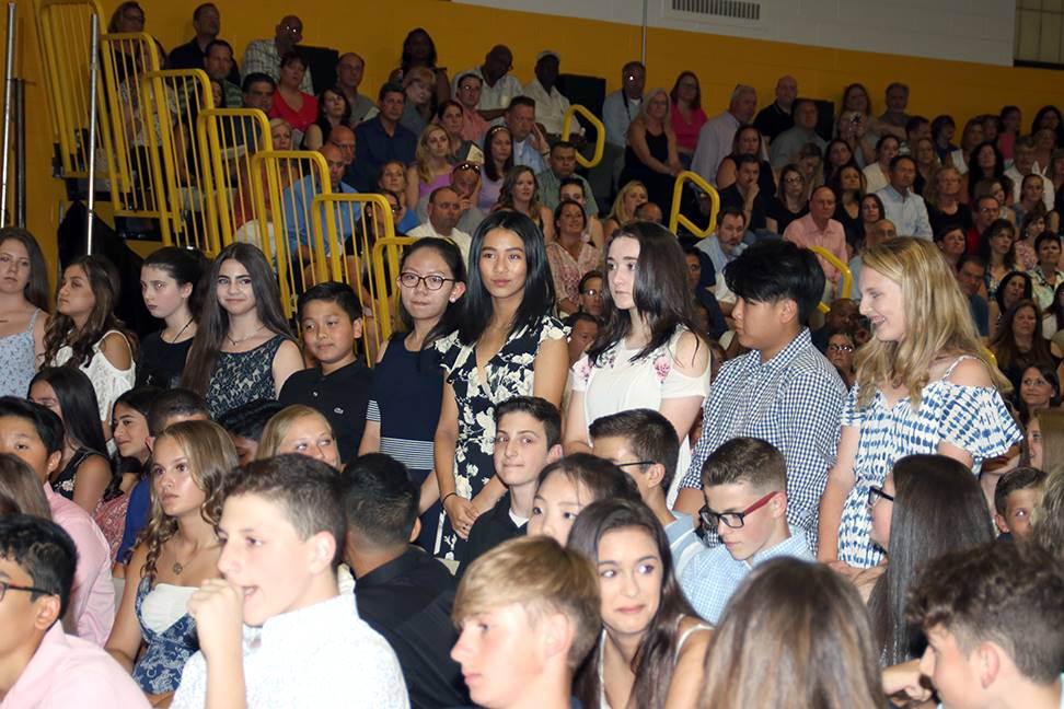 CMS Moving Up Ceremony 2018