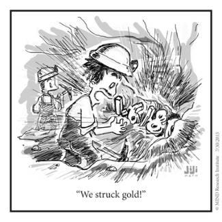 Struck Gold