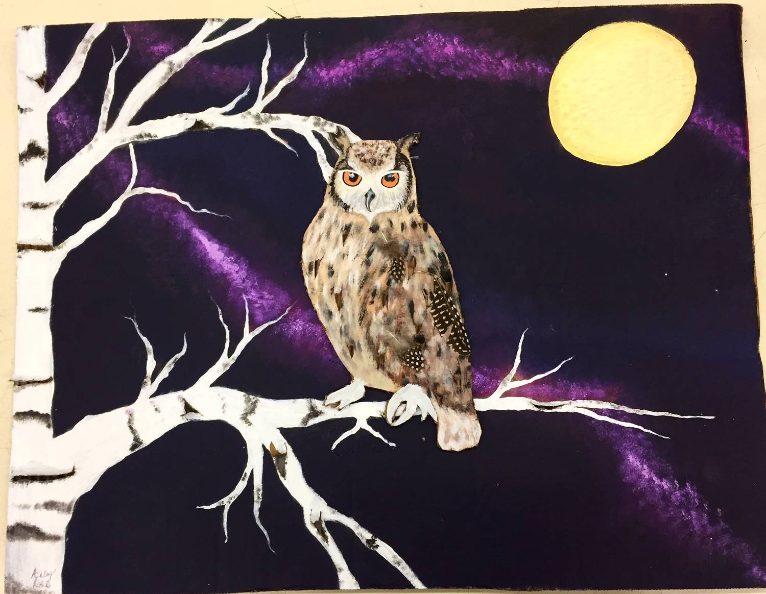 Painting of Owl