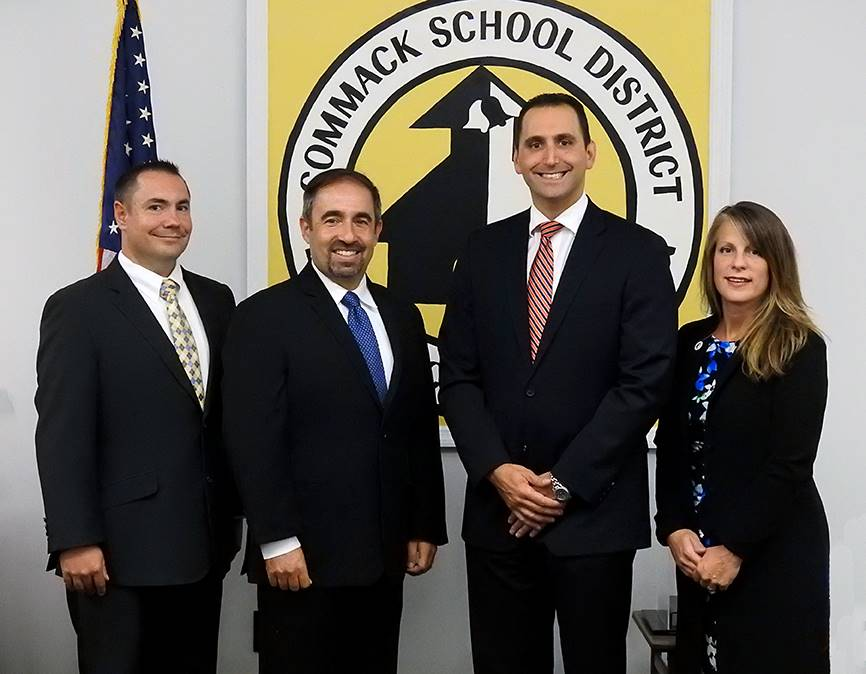 Commack Board of Education Members 2018-19