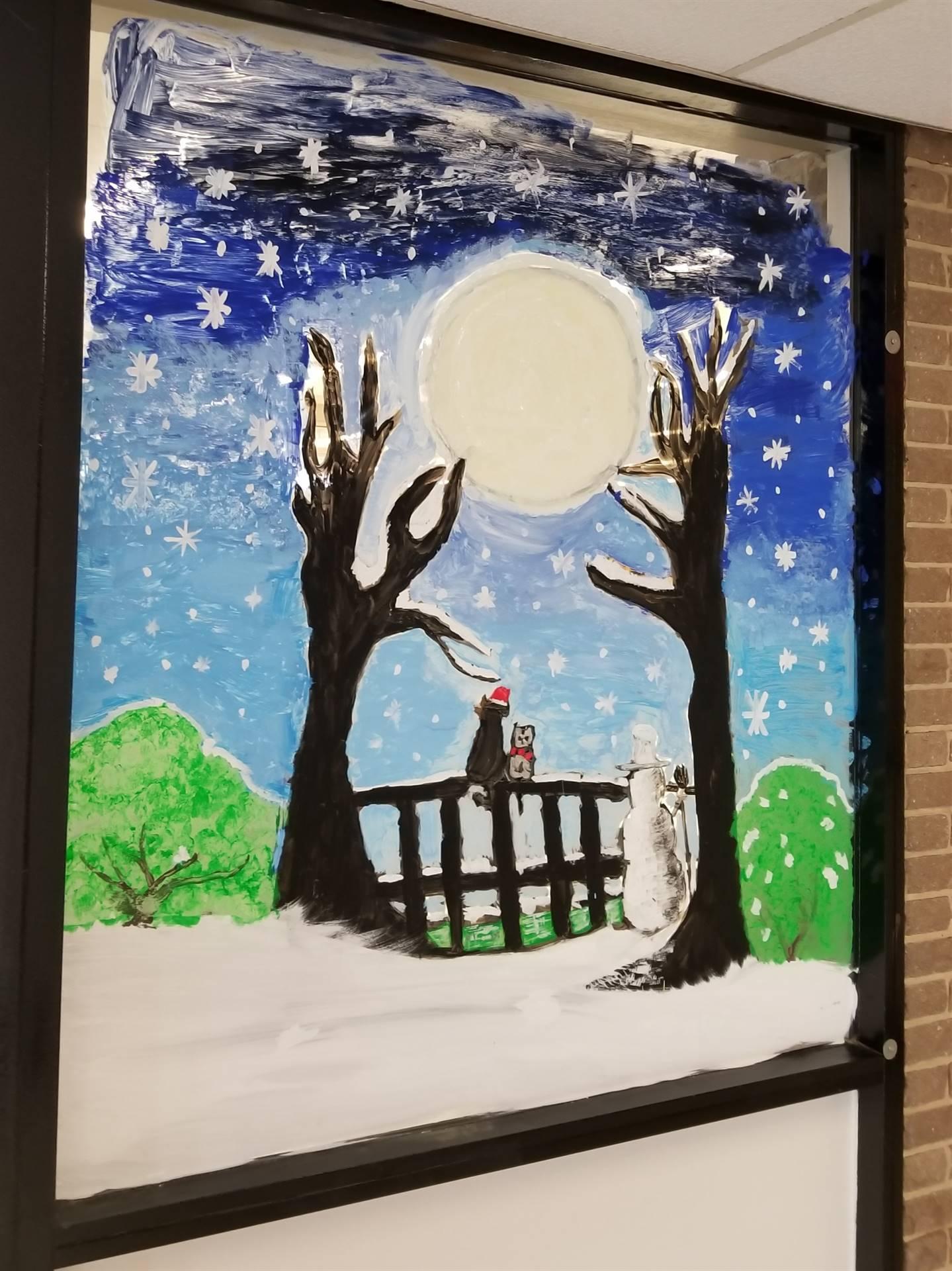 Window Painting 2019