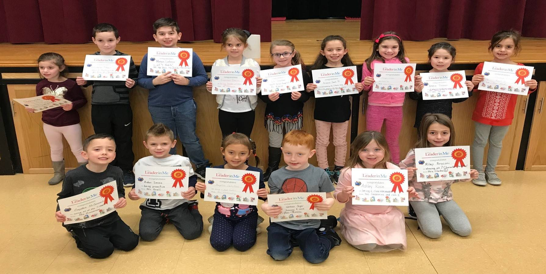 Photo of our Leaders of the Month: January 2019