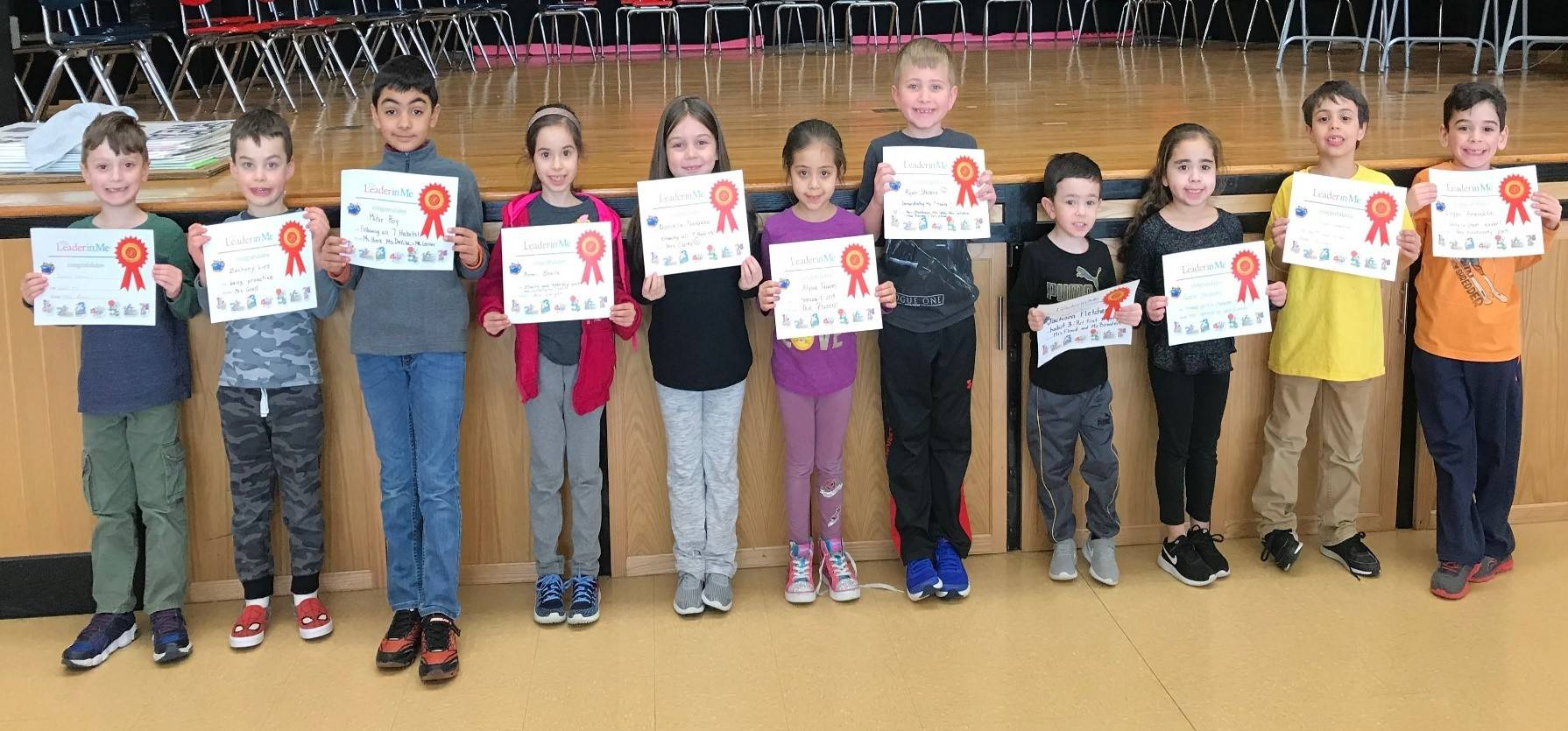 Photo of our Leaders of the Month February 2019