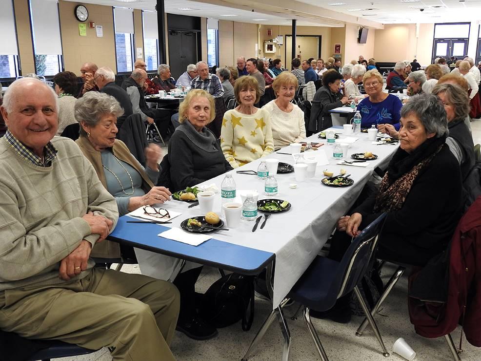 Senior Citizen Matinee audience
