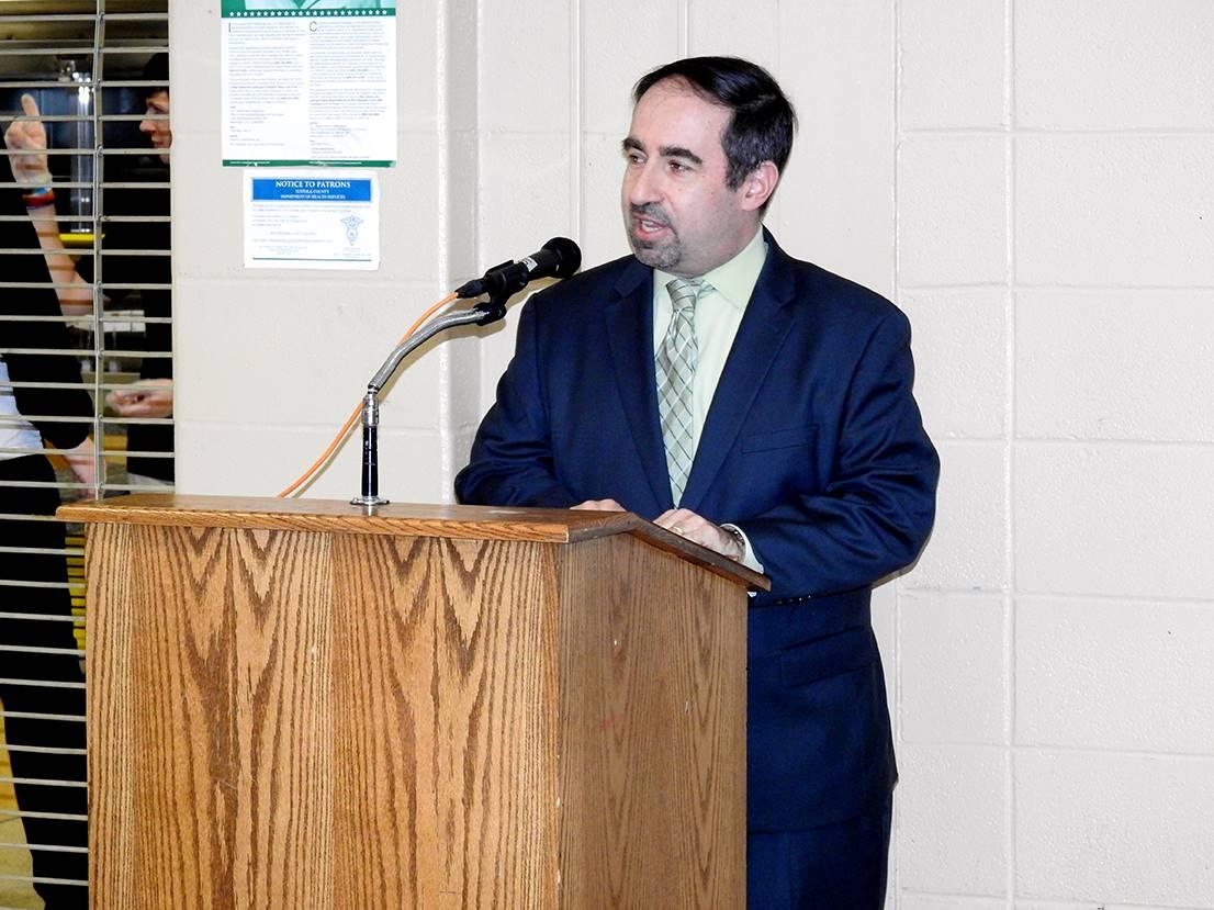 Board of Education President Steven Hartman