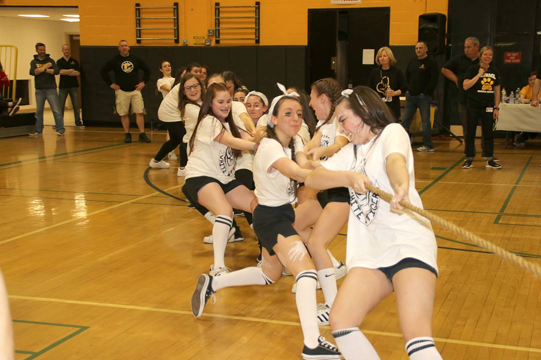 Gold and White Night Commack Middle School