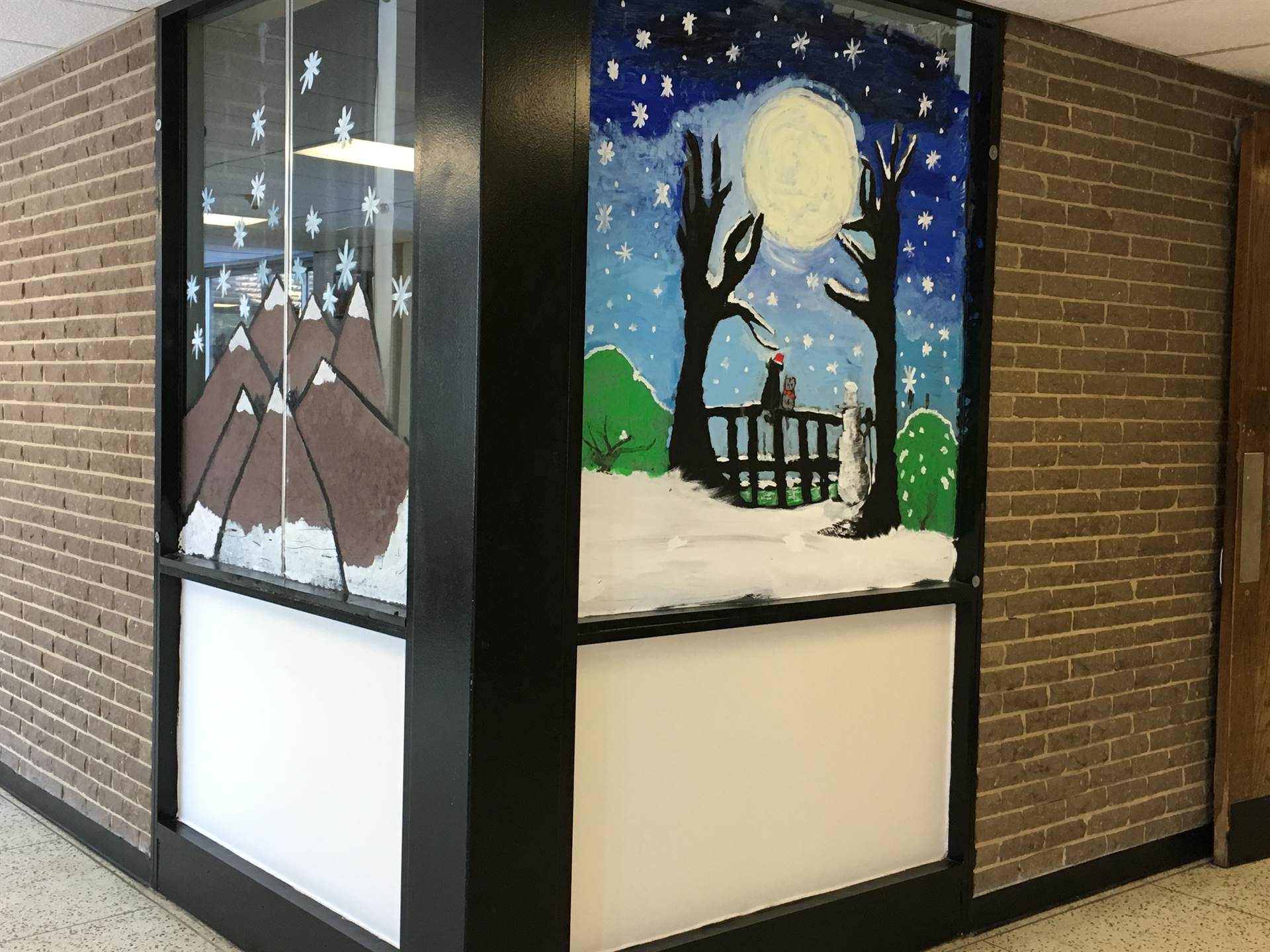 Window Art by Team 8-1 and 8-2