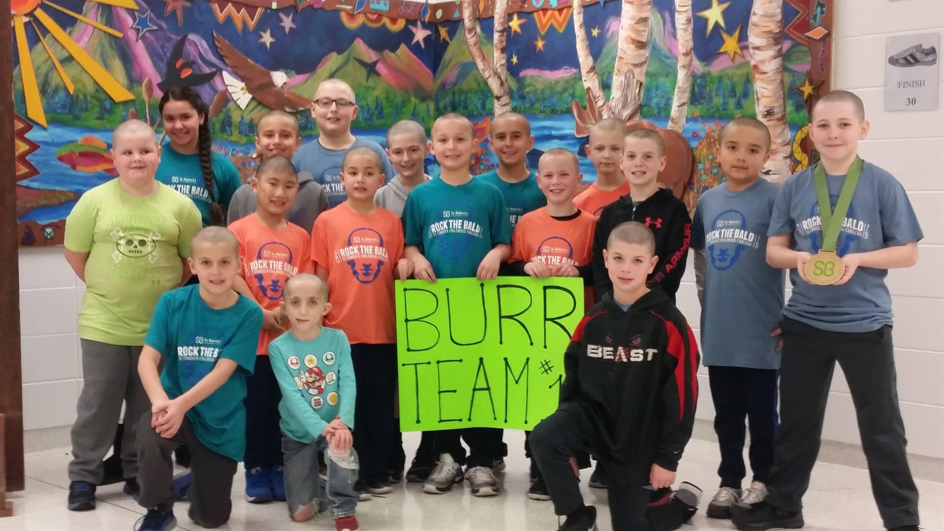 Burr Team for St. Baldricks