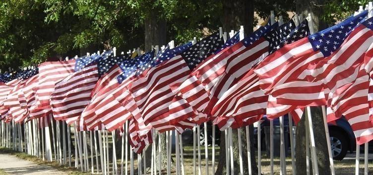 Flag Display at CHS