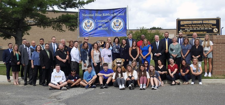 Commack High School - National Blue Ribbon of Exemplary High Performing Schools
